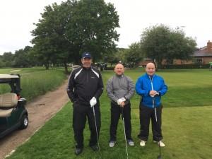 Richard Miller, Geoff Saunders, Wayne Lambert