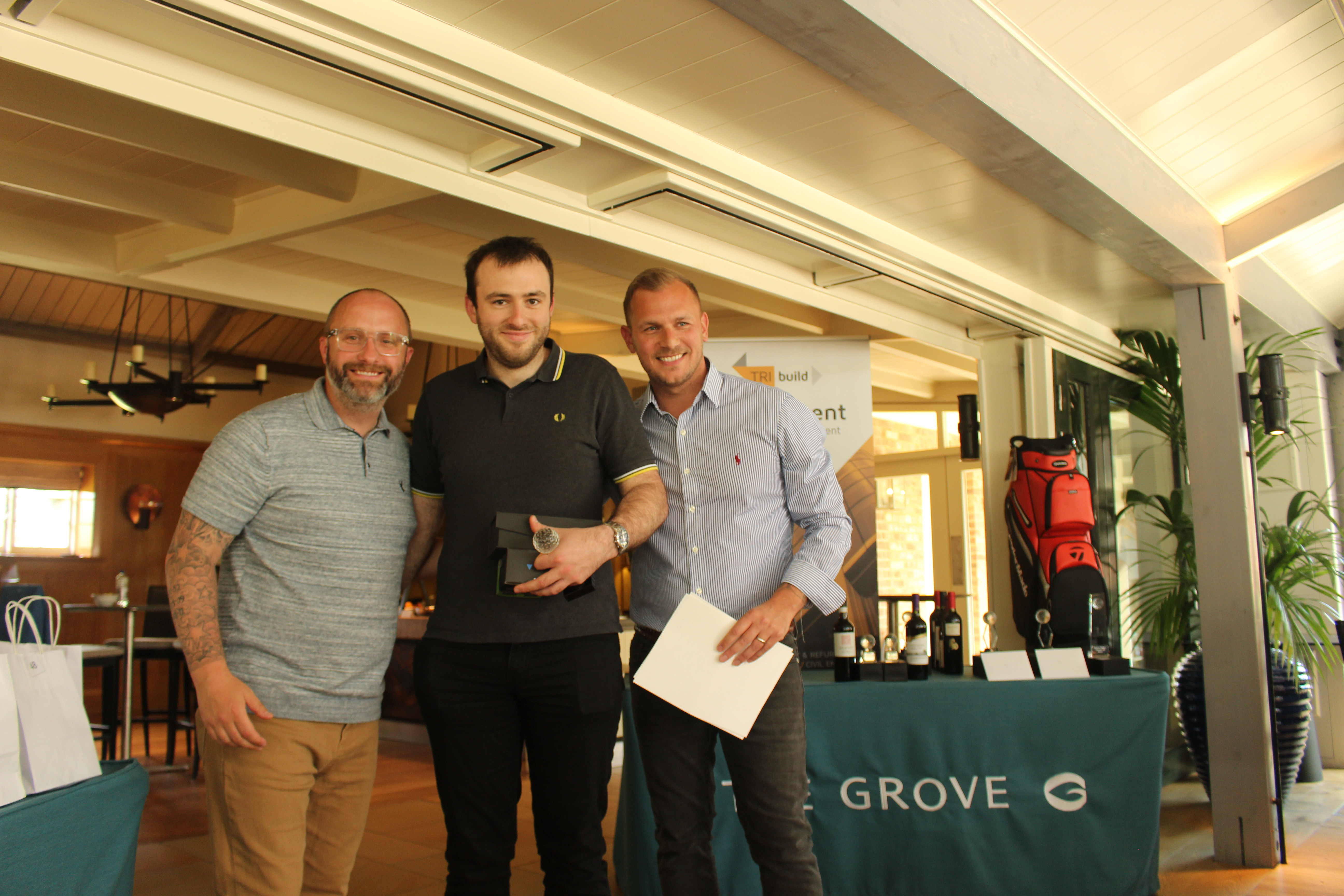 Tribuild Solutions Annual Golf Day 2019 At The Grove